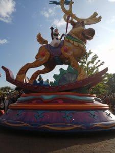 La parade à Disneyland Paris