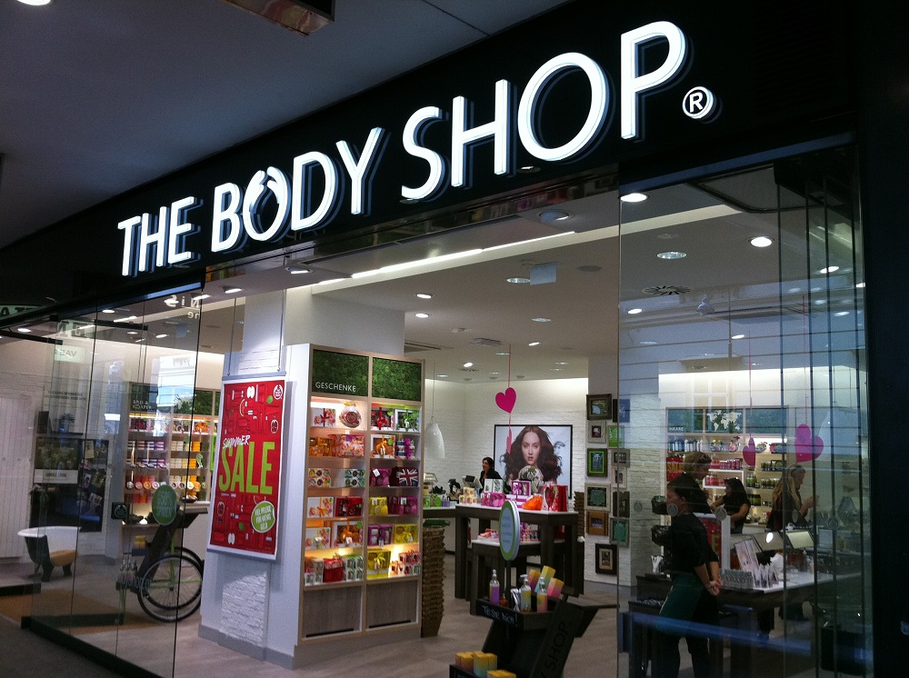 La marque The Body Shop