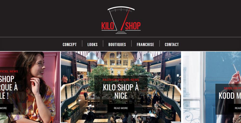 Le concept de Kiloshop