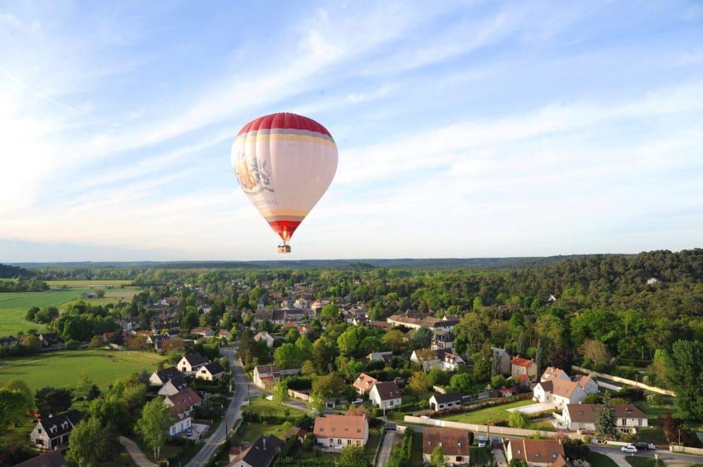 Pourquoi faire de la montgolfière près de Paris ?